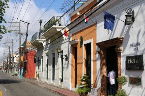 La vieille ville de Saint-Domingue