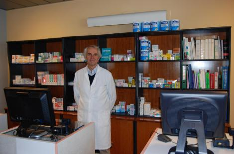 Michel Guyot, responsable pharmacie à Bordeaux
